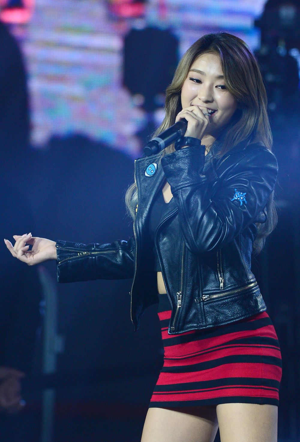 Bora from SISTAR performing at the Crowd Challenge Festival ! #kpop #korean #pop