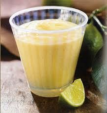 Mango Coconut Smoothie - a rich drink to beat the heat!