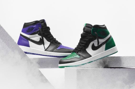 Are You Going For The Air Jordan 1 Retro High OG Court Purple Or Pine Green be9b734ab