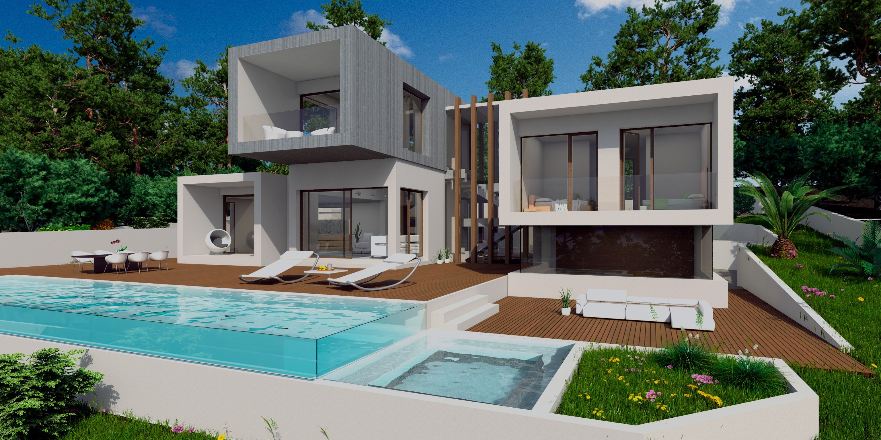 Modern Eco Home Design Commissioned By Us And Only Exclusively Available At Escape Dream Homes Modern Homes For Sale Ultra Modern Homes Modern House