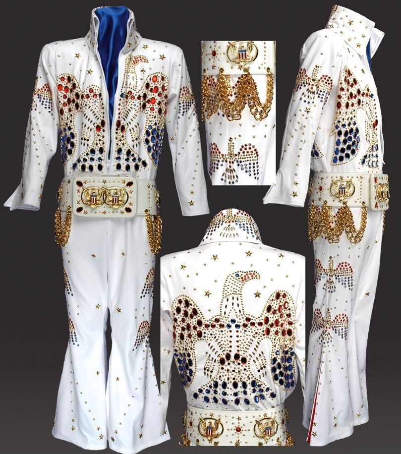 Image result for elvis las vegas outfit Elvis jumpsuits