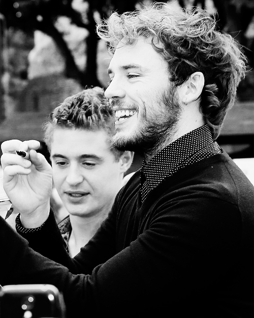 Max Irons & Sam Claflin