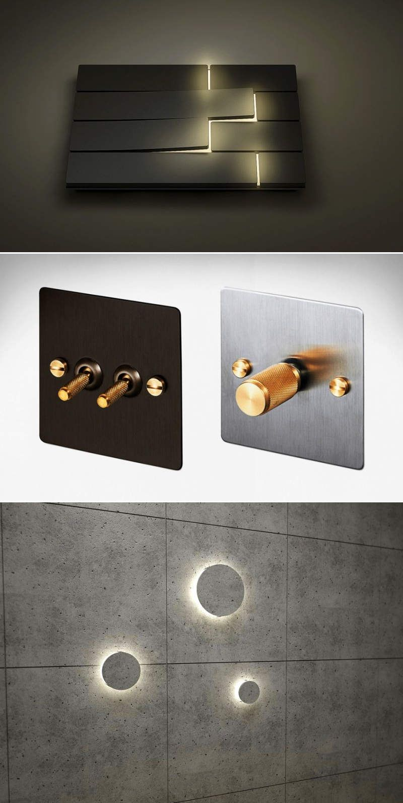 Designer Light Switches To Beautify Your Home Interiors