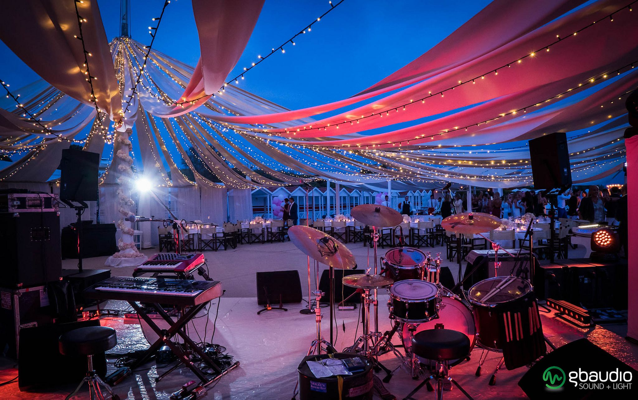 Event at Bagno Augustus Forte dei Marmi Russian party