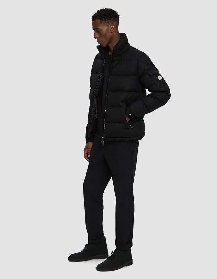 b585b07fa312 Moncler   Montgenevre Down Jacket in Black