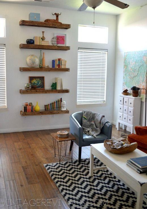 20++ Floating bookshelves living room inspirations