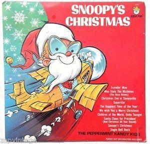 snoopys christmas peter pan records - Snoopys Christmas Album