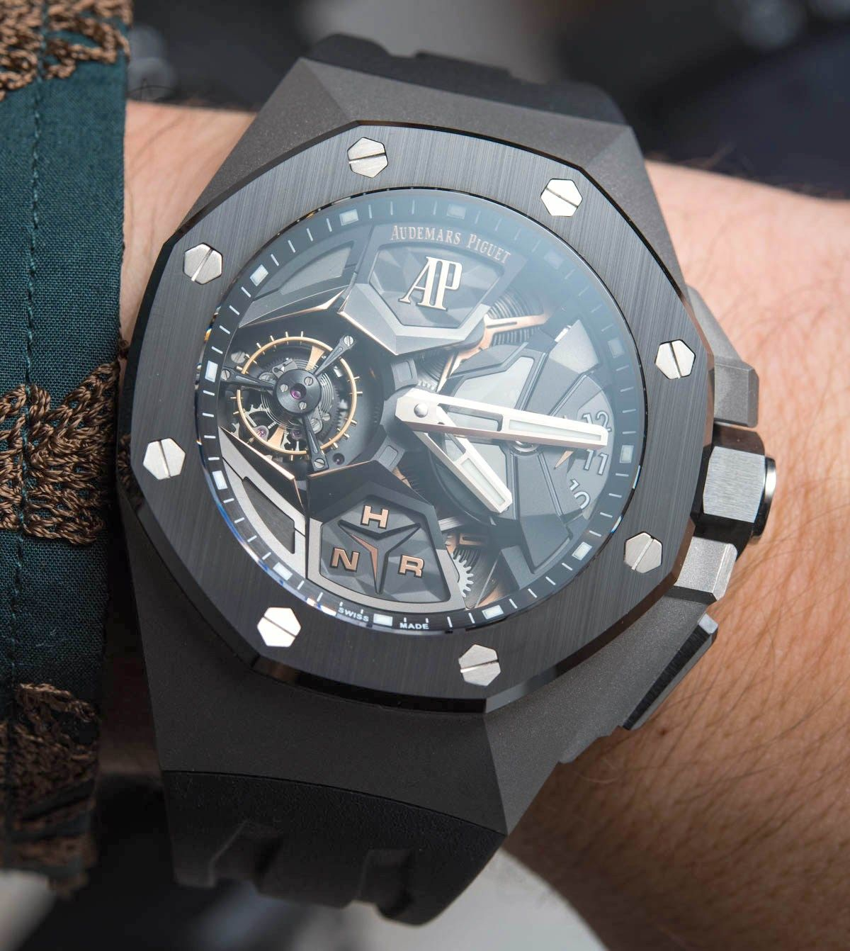 Audemars Piguet Royal Oak Concept Flying Tourbillon Gmt Watch Hands On