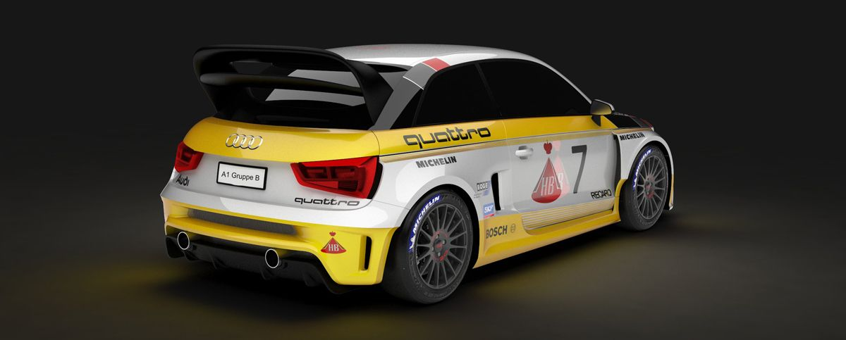 The Mtm A1 Quattro Group B Is A Rally Monster Audi Rally Car