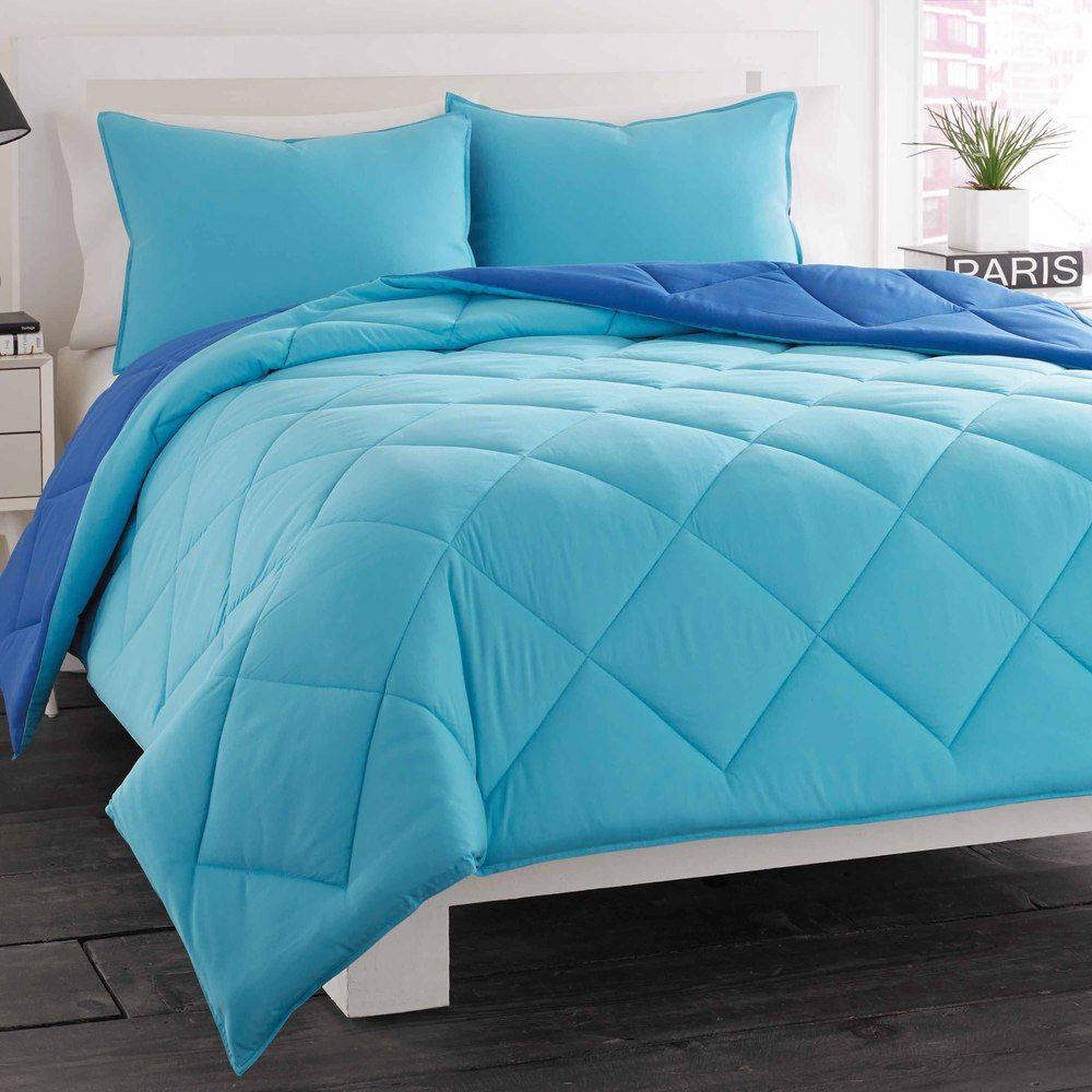 shopping comforter overstock blue on pin great deals reversible set scene ocean city