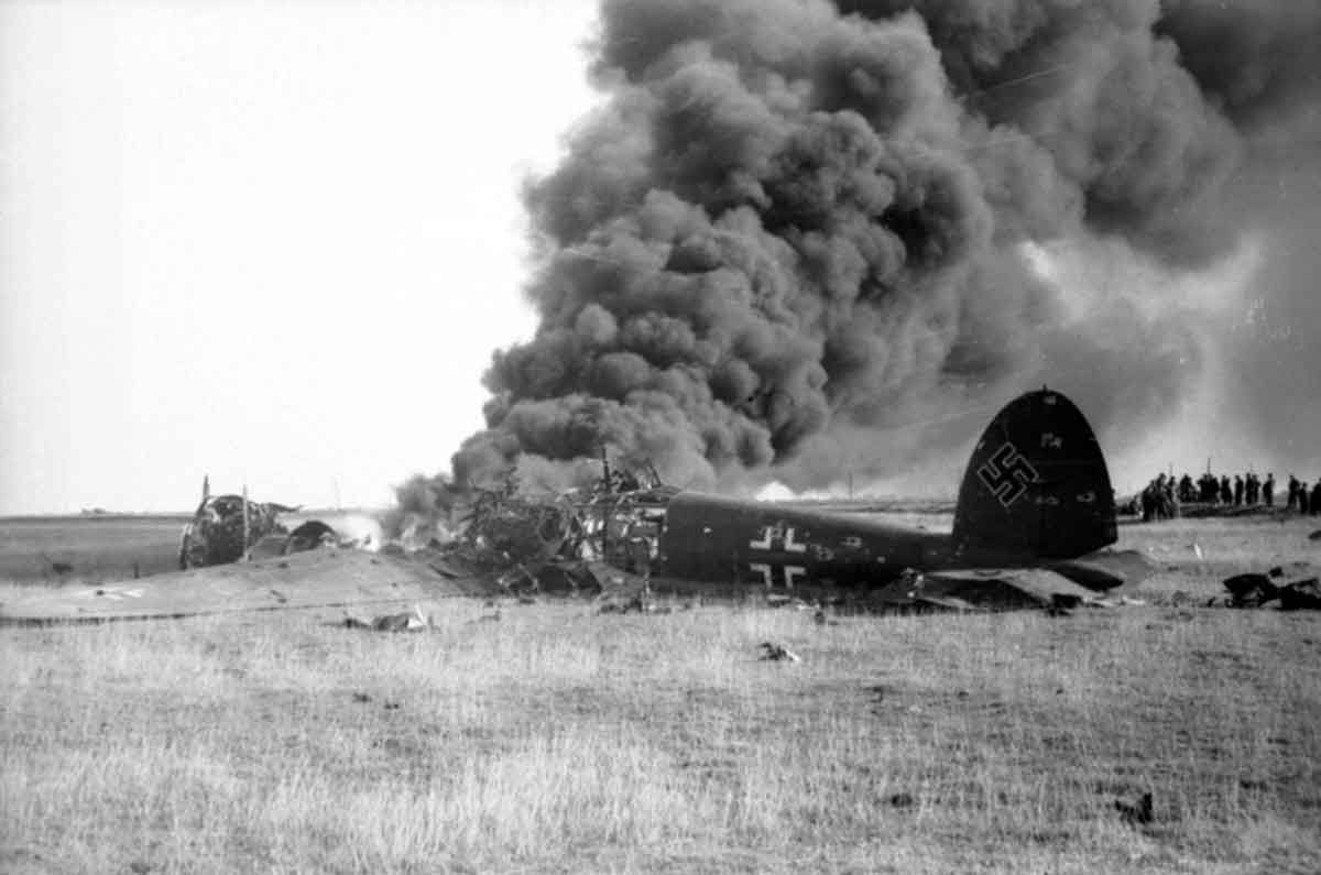 aug 18 1940 battle of britain – 'the hardest day' a downed he 111
