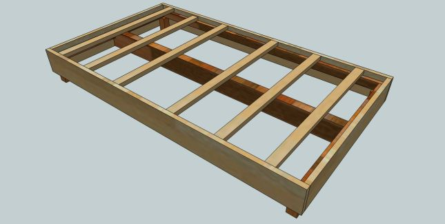 diy outdoor platform bed | Wood Bed Pedestal Plans Woodwork Plans How To