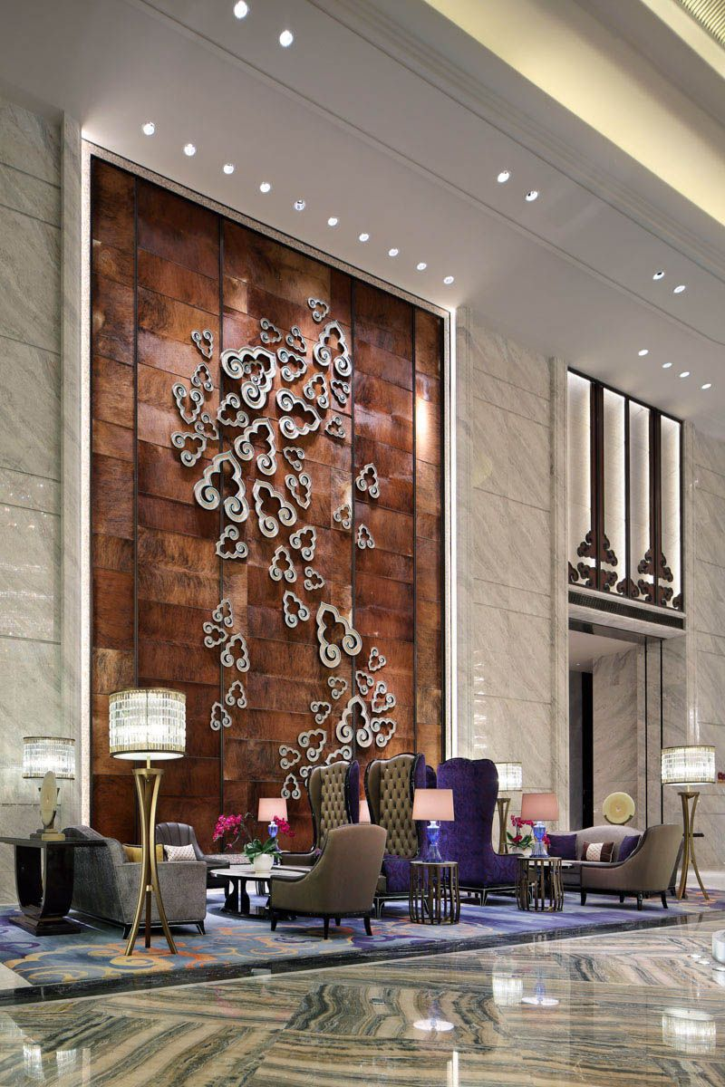 Db kim in 2019 hotel lobby design lobby design - Best way to soundproof interior walls ...