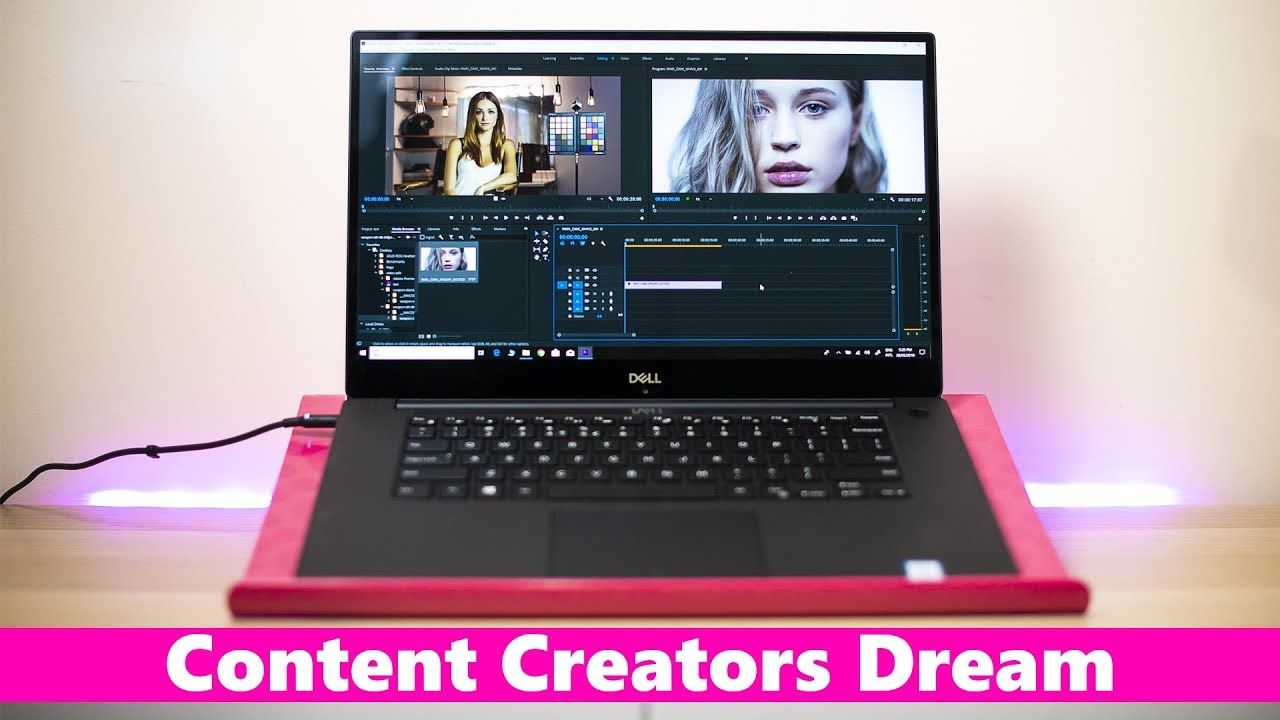 Dell XPS 15 9570 Creators Review - Video Editing Photography