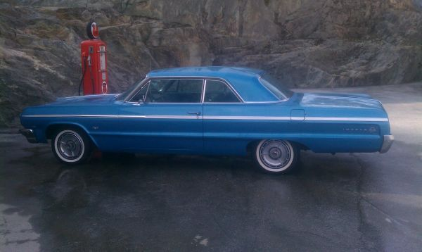 64 Chevy Impala Super Sport With Images Classic Cars