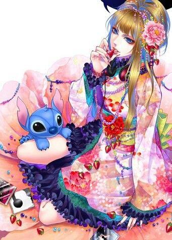 Anime Disney