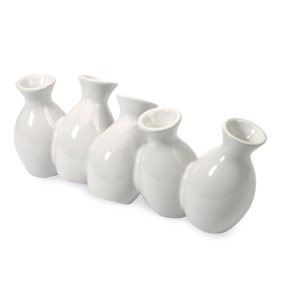 Mini Vases - great for a centerpiece