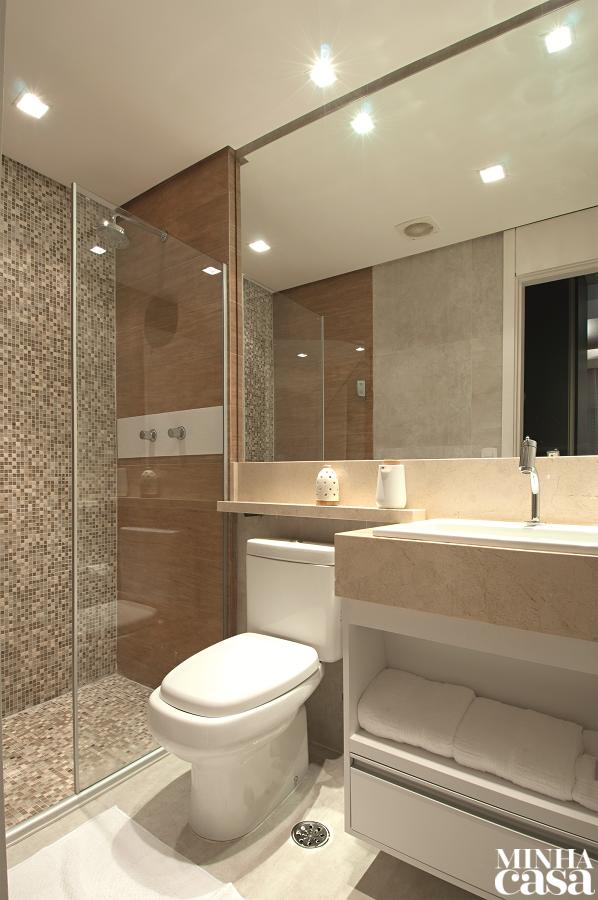 De Mdf Laminado A Cabeceira Dá O Toque Aconchegante Washroom Bathroom Toilets