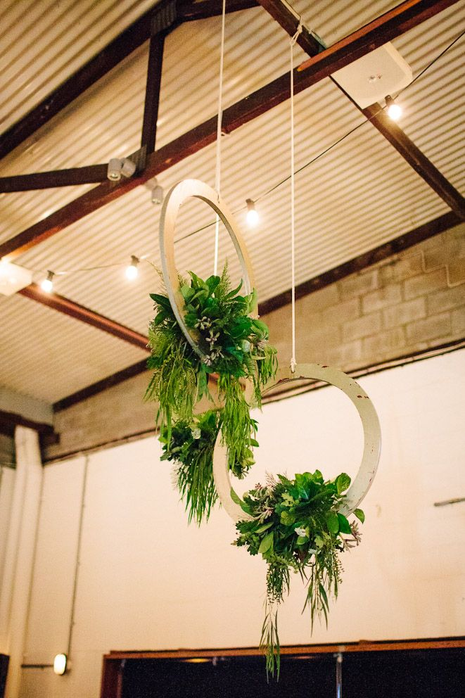 Hanging Floral Rings | Floristry & Styling By Pack A Perfect Party | Image By Tricia King Photography