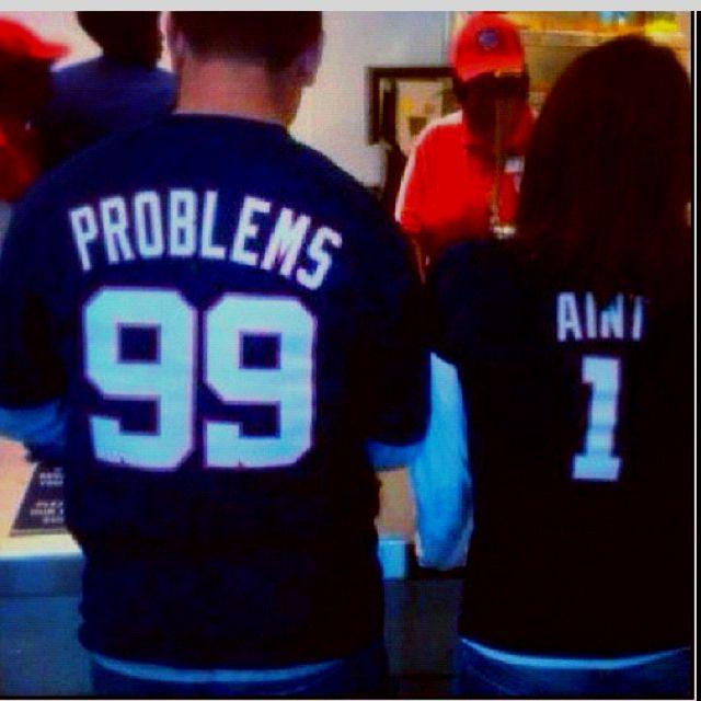 99 problems but...bitch aint 1