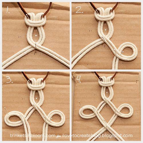 ilovetocreate blog diy dip dye macram necklace macrame 39 pinterest knoten gardinen und. Black Bedroom Furniture Sets. Home Design Ideas