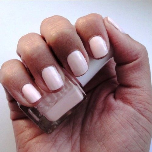 Light Pink Nail Polish For Dark Skin