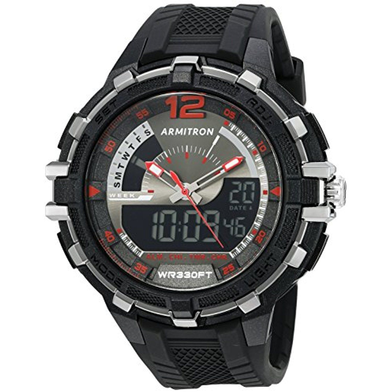 Armitron Sport Men's 20/5134BLK AnalogDigital Chronograph