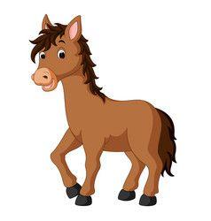40+ Cartoon Animal Clipart Horses