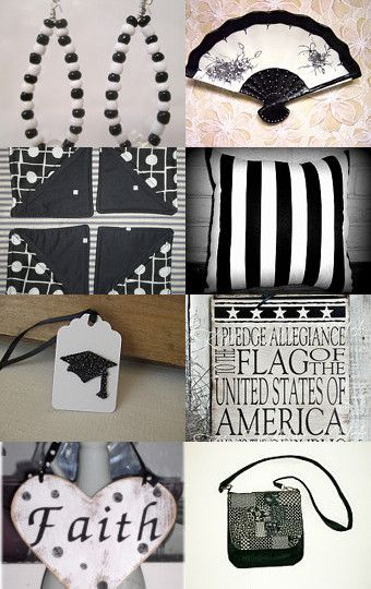 It's Black and White!! by Lois Ling on Etsy--Pinned with TreasuryPin.com