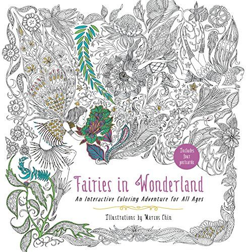 - Pin On Fairy Adult Coloring Books