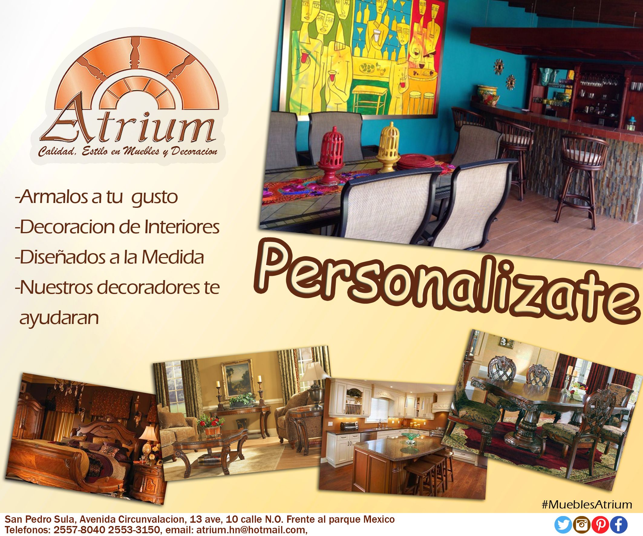 Personalizate Con Muebles Atrium Promociones Pinterest # Muebles Silvia Bucaramanga