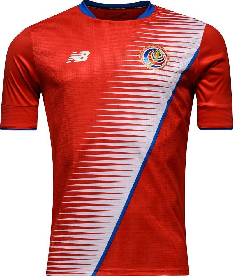Camisas da Costa Rica 2016-2017 New Balance  1bad5026f