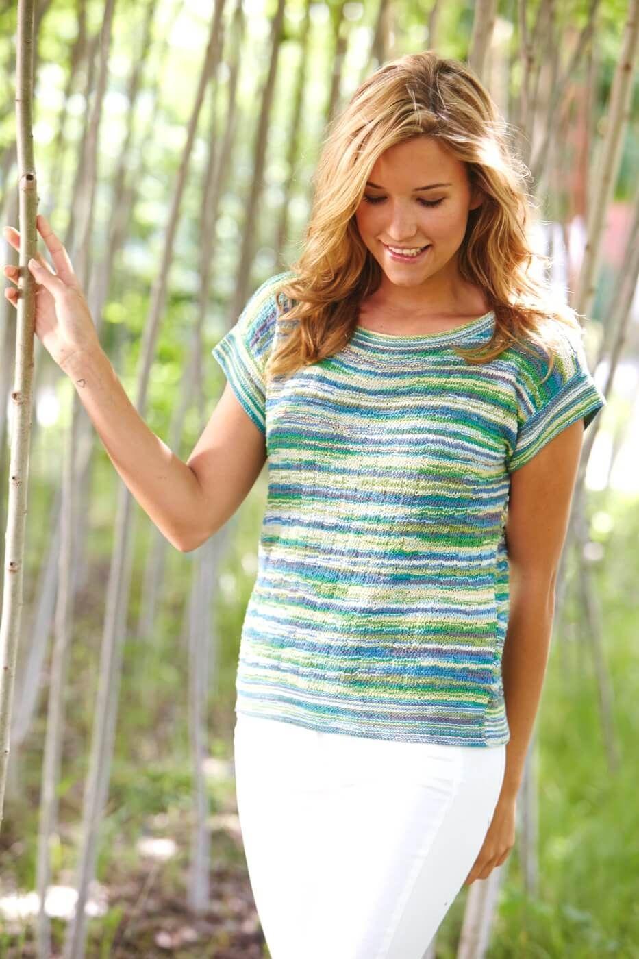 Gestricktes T-Shirt | Stricken | Pinterest | Stricken, Shirts und ...