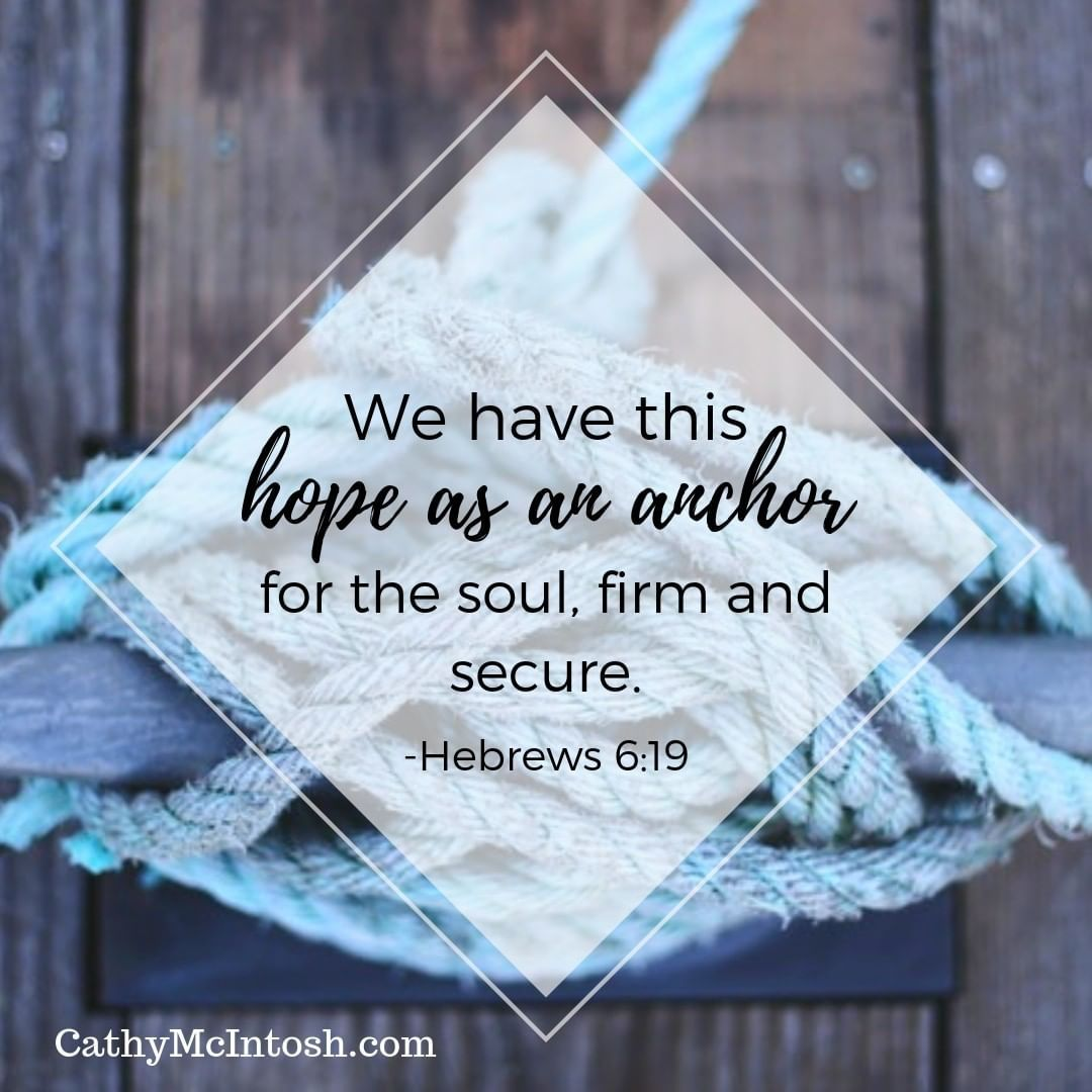 To Anchor Means To Secure Firmly Or To Fix On A Solid Foundation It Is Hope In Jesus That Anchors Us To The Immo Hope In Jesus Anchors Meaning Bible Teachings
