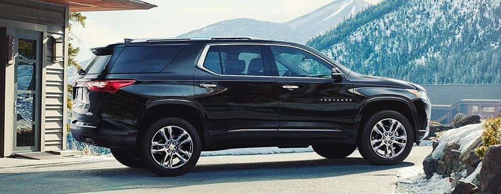 All New 2018 Traverse Performance: intelligent stop/start ...