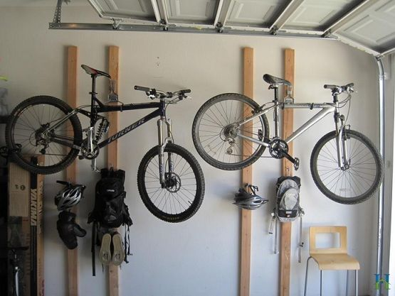 bicycle garage racks wall rack home bike for floor depot
