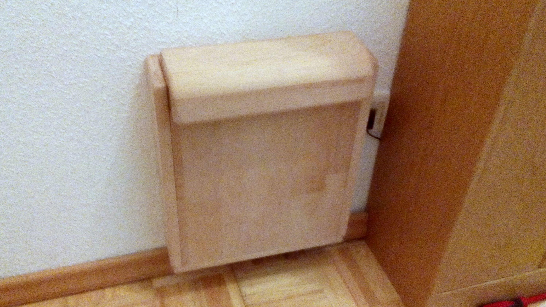 Outdoor Küche Selber Bauen Forum : Klappsitz im flur bauanleitung zum selber bauen heimwerker forum