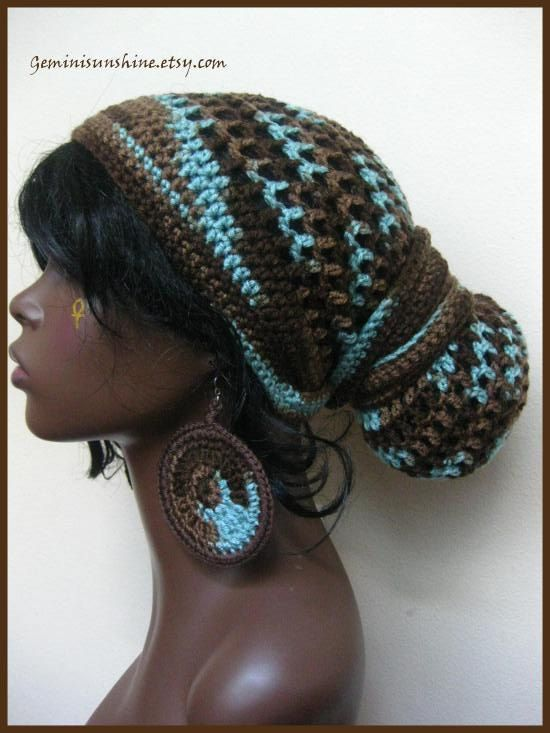 Earth And Sky Crochet Head Wrap And Earrings Head Wraps Earth And