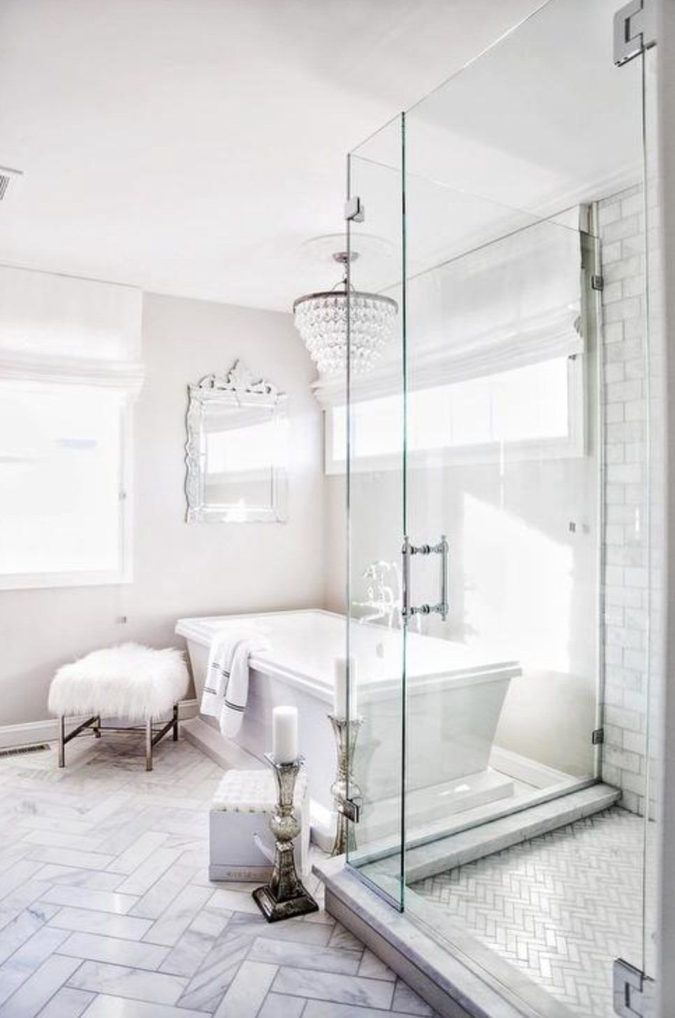 The 15 Most Beautiful Bathrooms On Pinterest Master Bathroom