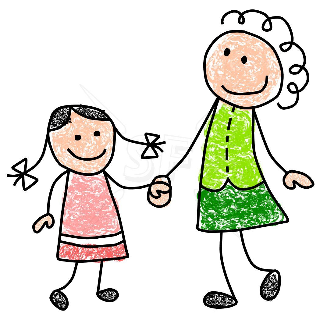 mother and daughter clipart pinterest stick figures clip art rh pinterest com au mother daughter hugging clipart mother daughter clip art free