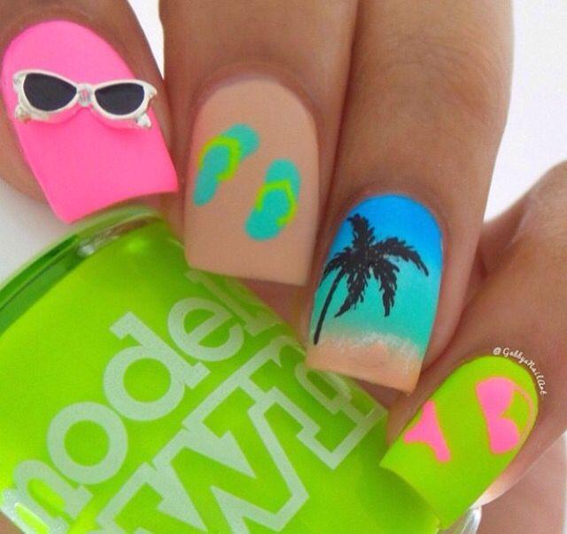 Pin by Itzel Alejandra Rodriguez on uñas | Pinterest | Beach ...