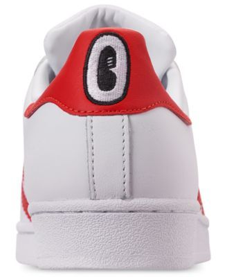 Adidas adidas Women's Originals Superstar Sneakers from Finish Line WHITEREDBLACK from macys | ShapeShop