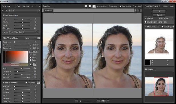 Mejora Fácilmente Las Imperfecciones De La Piel Con Portraiture Un Sorprendente Plugin Para Photoshop Ligthroom Y Aperture Photoshop Piel Trucos De Fotografia