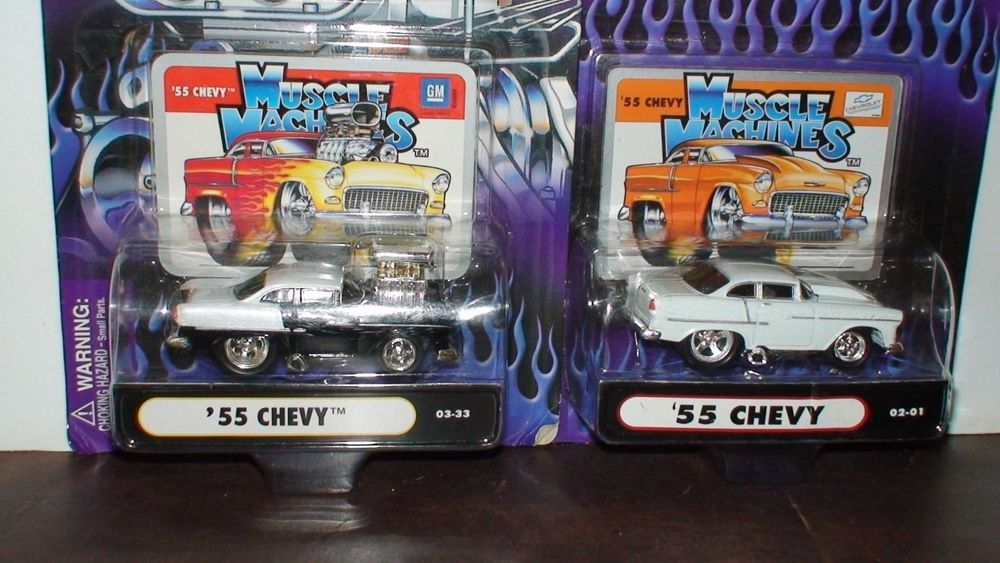 MUSCLE MACHINES LOT OF TWO 1/64 DIE CAST COLLECTIBLES ...