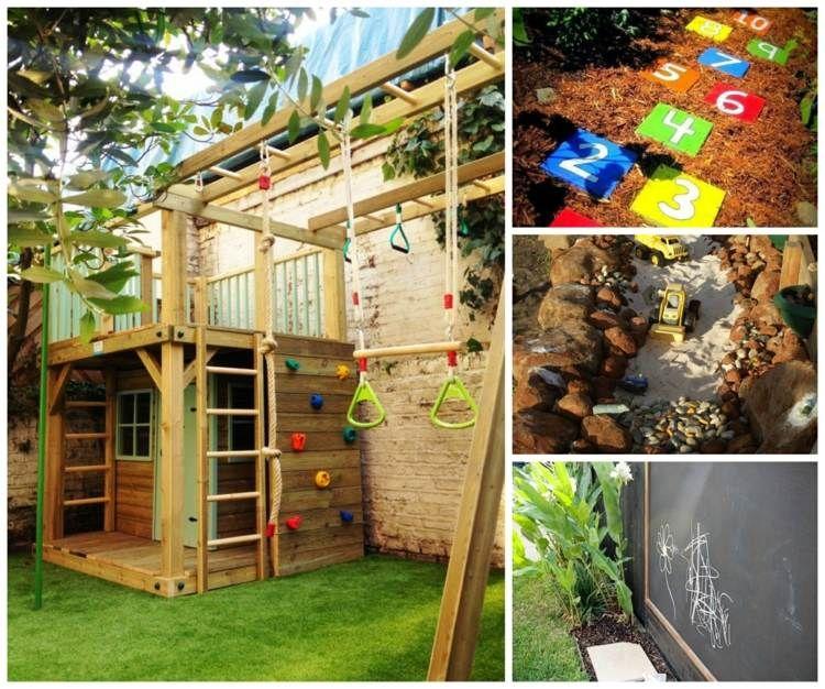 Aire De Jeux Jardin: Idées Créatives Pour Les Enfants | Aire De