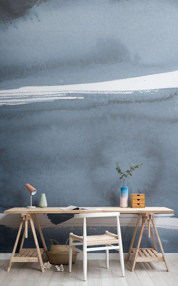 Create A Minimalist Scandinavian Style Home Office With Modern Office Wallpaper Murals And Elevate A Nordic I Office Wallpaper Modern Wallpaper Mural Wallpaper
