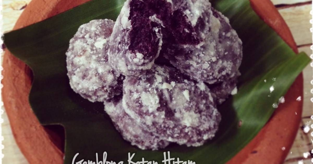Resep Gemblong Keling Oleh Ibu Malka Resep Cemilan Resep Kue