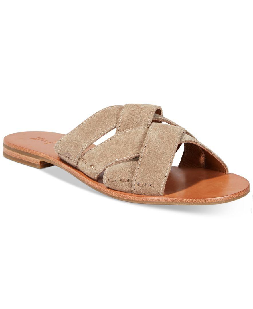 FRYE Carla Women Slide Sandal