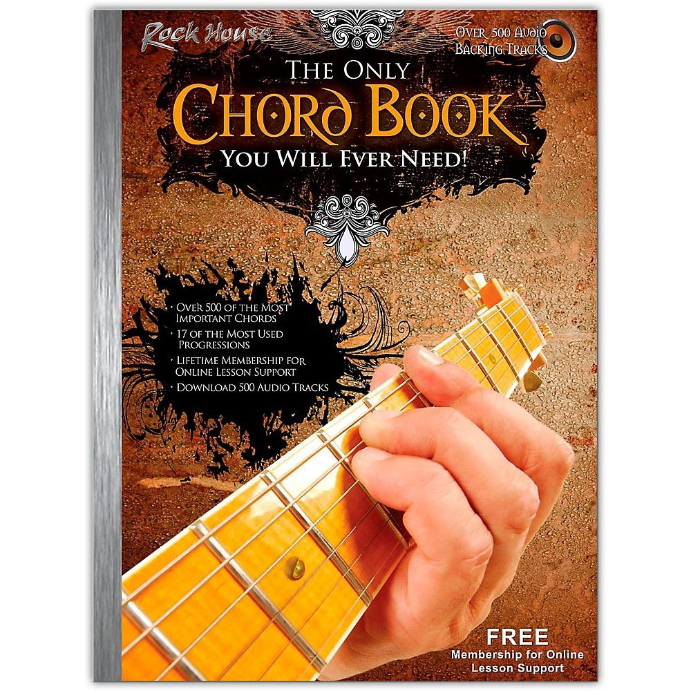 Hal Leonard The Only Chord Book You Will Ever Need For Guitar Book