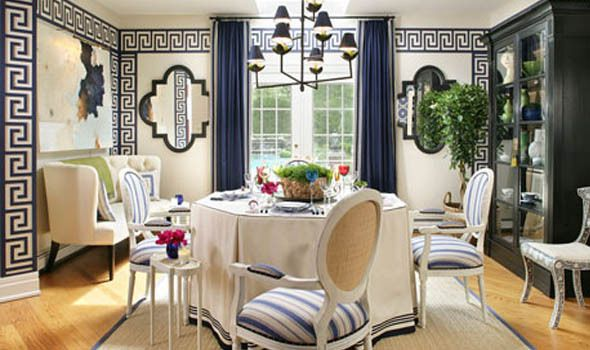 Eye For Design: Decorating With Greek Key Motif